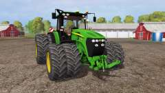 John Deere 7930 twin wheels