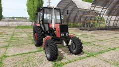 MTZ Belarus 82.1 v1.1 for Farming Simulator 2017