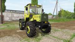 Mercedes-Benz Trac 900 Turbo Intercooler v2.2 for Farming Simulator 2017