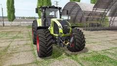 CLAAS Axion 940 for Farming Simulator 2017