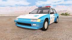 Ibishu Pessima south korean police for BeamNG Drive