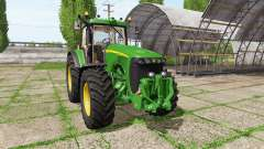 John Deere 8120 v4.0 for Farming Simulator 2017
