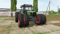 Fendt 920 Vario forest edition for Farming Simulator 2017