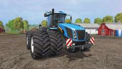 New Holland T9.565 twin wheels v1.2 for Farming Simulator 2015