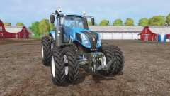 New Holland T8.320 twin wheels for Farming Simulator 2015