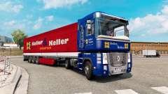 Painted truck traffic pack v2.4 for Euro Truck Simulator 2