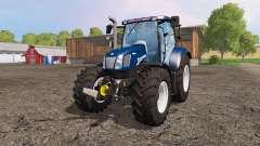 New Holland T6.160 blue power for Farming Simulator 2015