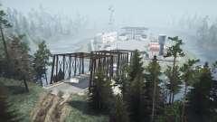 Flooded village v2.0 for MudRunner