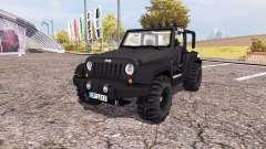 Jeep Wrangler (JK) v2.0 for Farming Simulator 2013