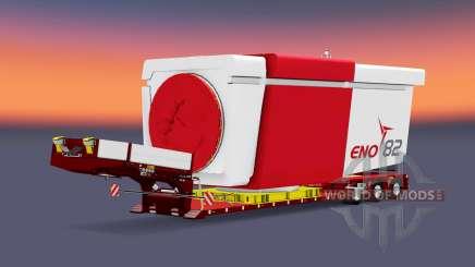 Doll Vario 3-axle v5.0 for Euro Truck Simulator 2