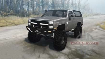 Chevrolet K5 Blazer 1982 for MudRunner