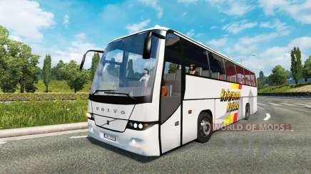 Bus traffic v1.5 for Euro Truck Simulator 2