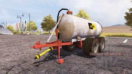 Jo-Ba manure barrel v3.1 for Farming Simulator 2013