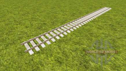 A collection of railway tracks for Farming Simulator 2017