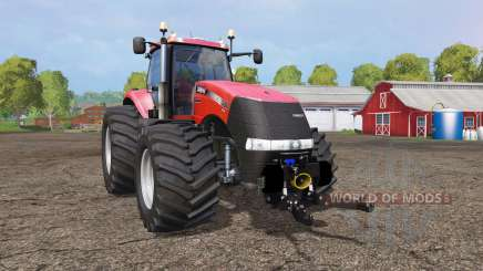 Case IH Magnum CVX 380 wide tires for Farming Simulator 2015