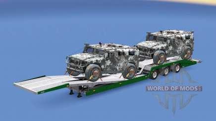 Military cargo pack v1.9 for Euro Truck Simulator 2