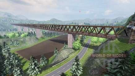 Silent valley for Farming Simulator 2013