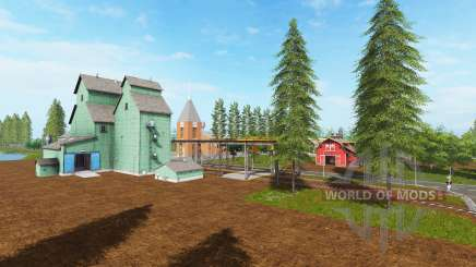 Canadian national map v1.2 for Farming Simulator 2017