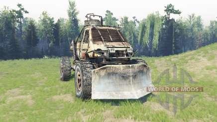 GAZ 3302 [Metro 2033] for Spin Tires