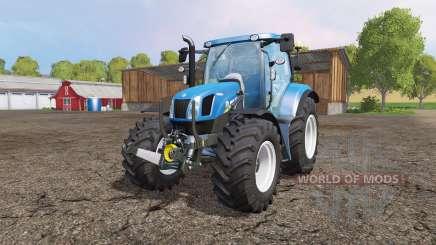 New Holland T6.160 front loader v1.1 for Farming Simulator 2015