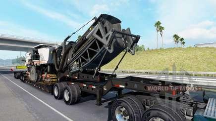 Fontaine Magnitude 55L Wirtgen v1.1 for American Truck Simulator