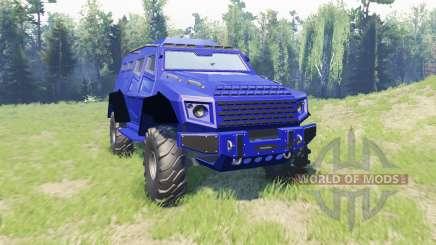 GTA V HVY Insurgent v1.1 for Spin Tires
