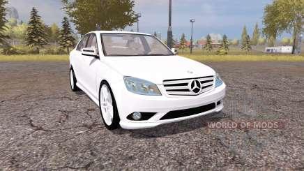 Mercedes-Benz C350 Sport (W204) for Farming Simulator 2013