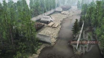Siberian forest 2 v1.1 for MudRunner