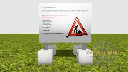 Fencing construction works v1.2 for Farming Simulator 2015