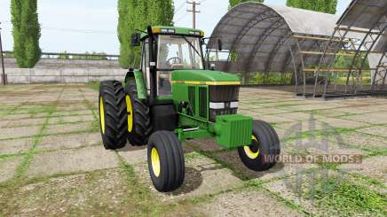 John Deere 7800 for Farming Simulator 2017