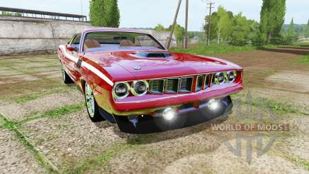 Plymouth Cuda 1971 for Farming Simulator 2017