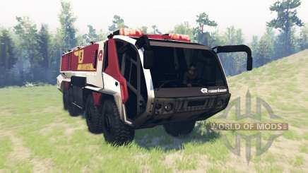 Rosenbauer Panther 8x8 CA7 v1.0 for Spin Tires