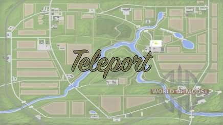 Teleport v1.1 for Farming Simulator 2017