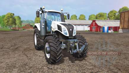 New Holland T8.435 white for Farming Simulator 2015