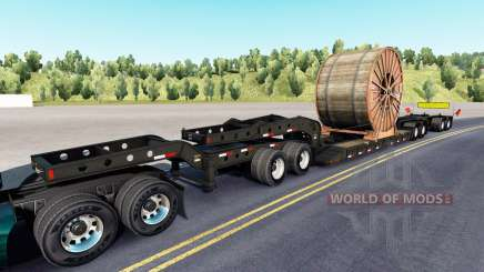 Fontaine Magnitude 55L cable roll for American Truck Simulator