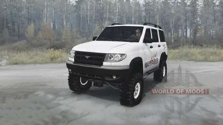 UAZ 3163 Patriot wayfarer for MudRunner
