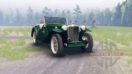 MG TC Midget 1948 for Spin Tires