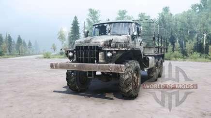 Ural 375Д for MudRunner