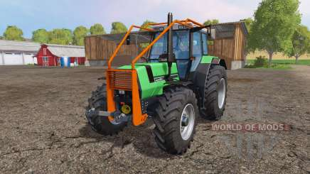 Deutz-Fahr AgroStar 6.61 forest for Farming Simulator 2015