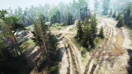 Forestry v1.1 for MudRunner