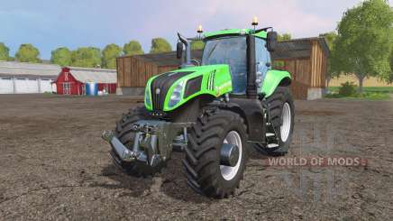 New Holland T8.435 green for Farming Simulator 2015