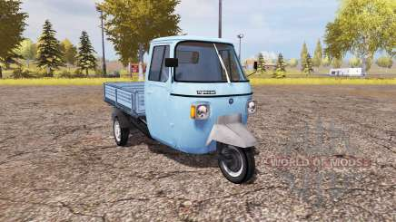 Piaggio Ape P601 for Farming Simulator 2013