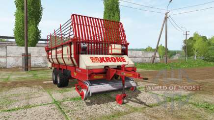 Krone Turbo 3500 v1.1 for Farming Simulator 2017