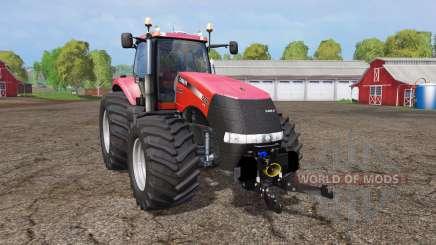 Case IH Magnum CVX 370 wide tires for Farming Simulator 2015