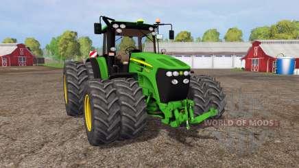 John Deere 7930 twin wheels for Farming Simulator 2015