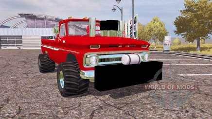 Chevrolet C10 1964 lifted for Farming Simulator 2013