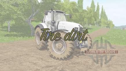 Tire dirt for Farming Simulator 2017