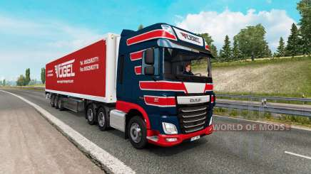 Painted truck traffic pack v2.6 for Euro Truck Simulator 2