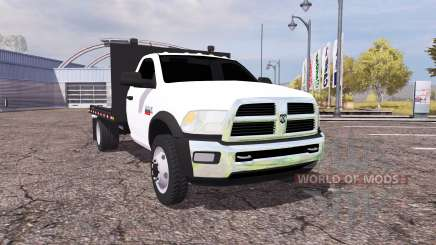 Dodge Ram 5500 Heavy Duty flatbead for Farming Simulator 2013