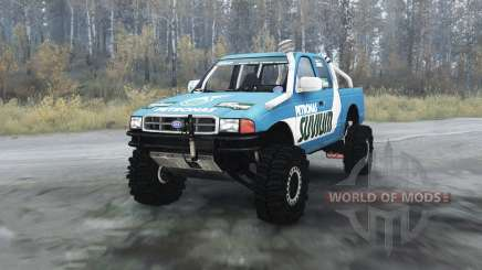 Ford F-series Petronas Suvium for MudRunner